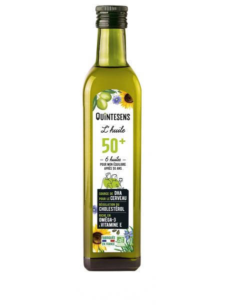 L'huile Bio des Seniors (50ans) 500ml Quintesens