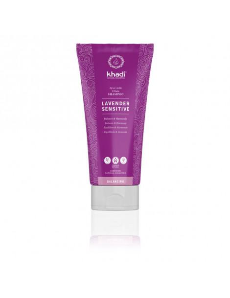 Shampooing ayurvédique Lavender Sensitive 200ml Khadi