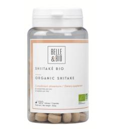 Shiitake bio 120 gélules Belle et Bio