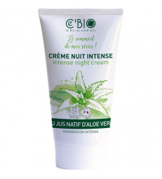 Crème de nuit Aloé véra 50ml C'bio