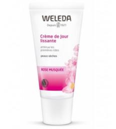 Crème de Jour lissante à la Rose Musquée premières rides 30ml Weleda