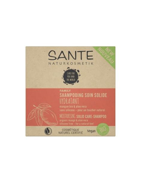 Shampoing solide Mangue et Aloe Bio 60g Sante