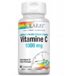 Vitamine C 1000 mg 30 comprimés Solaray