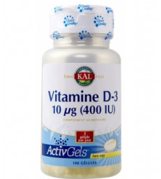 Vitamine D3 100 capsules Solaray