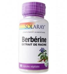 Berbérine 60 gélules végétales Solaray