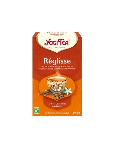 Infusion Réglisse 17 infusettes Yogi Tea