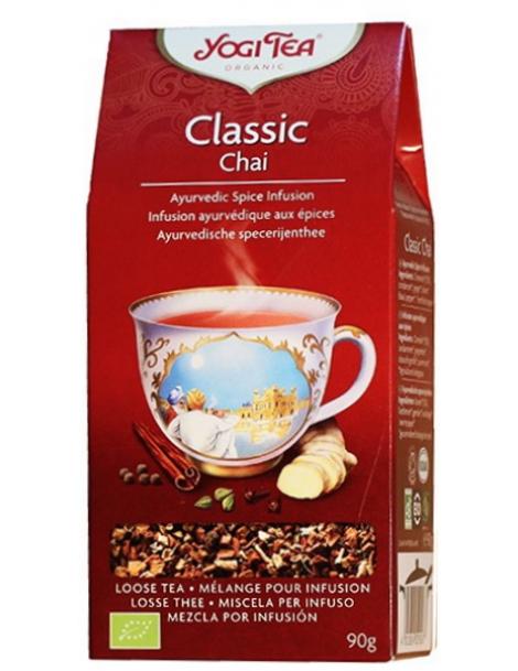 Infusion Classic Chai sans théine 90g Yogi Tea