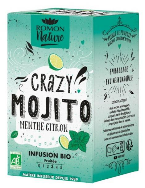 Infusion plaisir Crazy Mojito bio Romon Nature