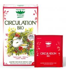 Tisane Circulation bio 20 sachets 32g Romon Nature
