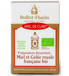 Miel de Cure à la gelée royale (préparation dynamisée) 125g Ballot Flurin