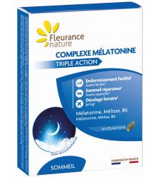 Complexe mélatonine 30 comprimés Fleurance Nature