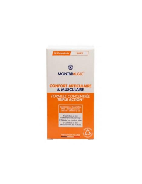 Confort articulaire et musculaire Montbralgic 60 comprimés Eau Thermale Montbrun