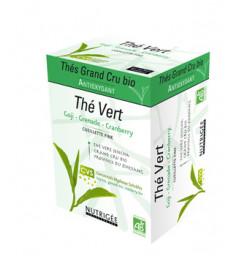 Thé Vert Antioxydant Goji Grenade Cranberry gamme Thés Grand Cru Nutrigee