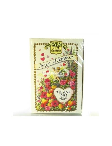 Provence d'Antan Recharge tisane Jour d'Amour 30 sachets mousseline